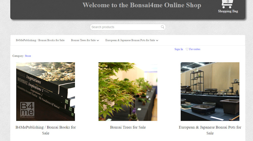 bonsai shop